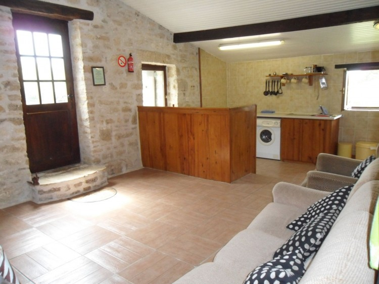 Property for Sale in House with gite barns and swimming pool. Make a living here in France!, Charente, Near Ruffec, Charente, Nouvelle-Aquitaine, France