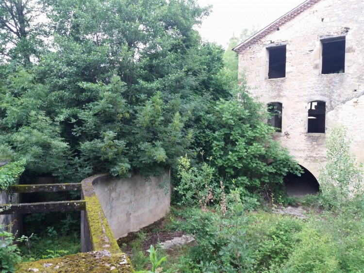 Property for Sale in Watermill  from the XV century on the banks of the Lot river  in need of full renovation, Lot-et-Garonne, Near Fumel, Lot-Et-Garonne, Nouvelle-Aquitaine, France