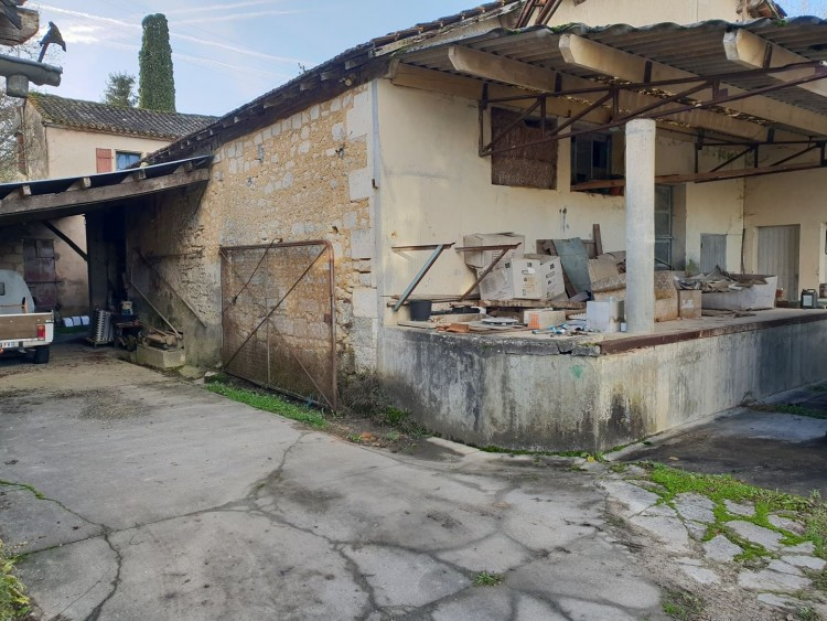Property for Sale in Watermill to renovate, Charente, Near Villebois-Lavalette, Charente, Nouvelle-Aquitaine, France