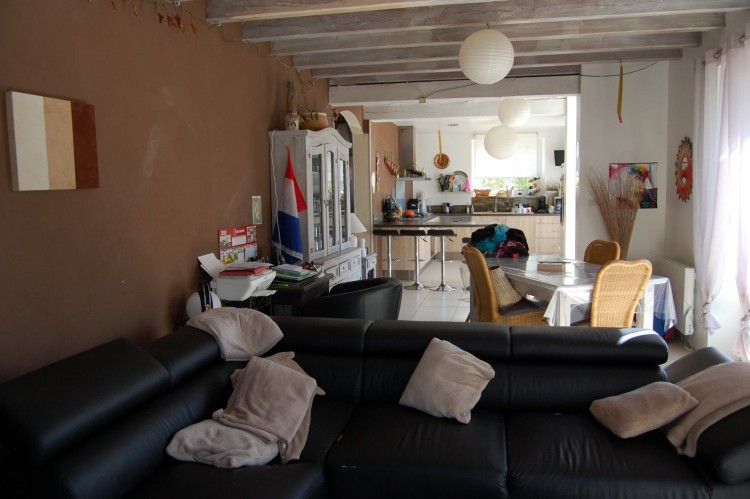 Property for Sale in House divided into two apartments at 5 min from Ribérac, Dordogne, Near Ribérac, Dordogne, Nouvelle-Aquitaine, France