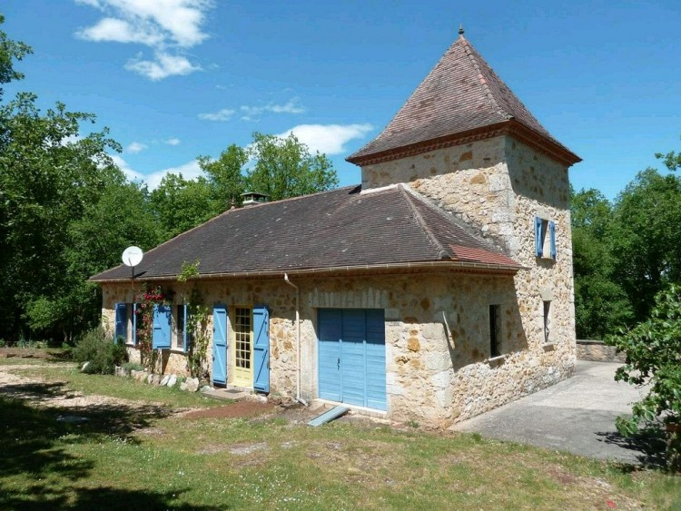 Property for Sale in Country house, Lot, Serignac, Occitanie, France