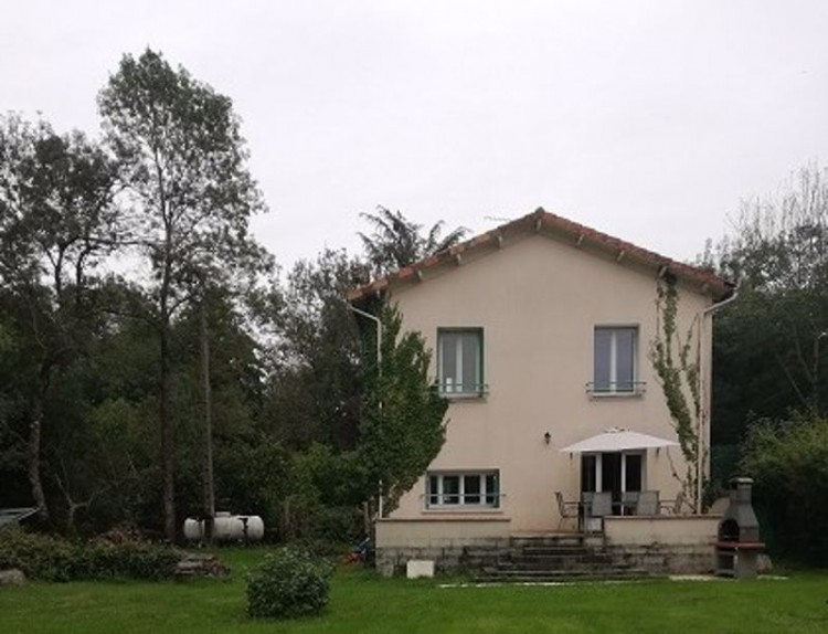 Property for Sale in Detached river side property, Near Saint-Angeau, Charente, France