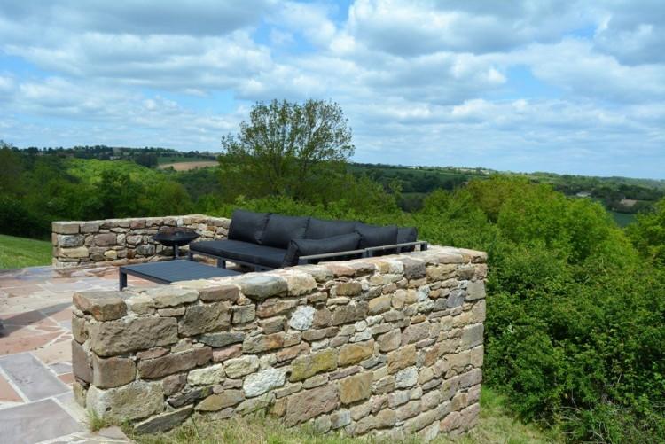 Property for Sale in Stone farmhouse with fabulous countryside views, Tarn, Near Monestiés, Tarn, Occitanie, France