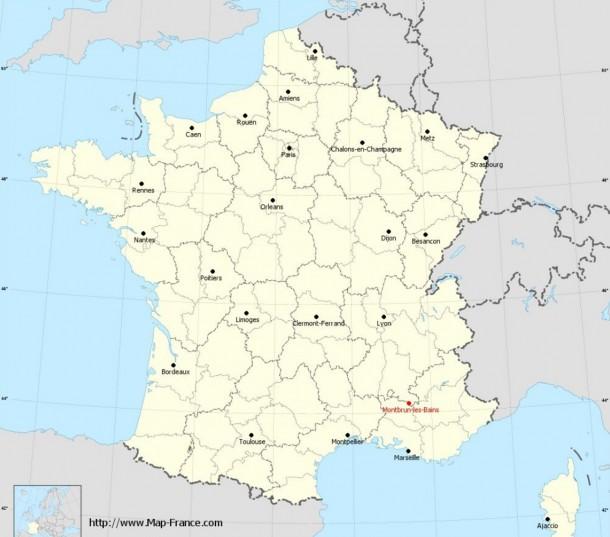 Property for Sale in Drôme, Montbrun-Les-Bains, Auvergne-Rhône-Alpes, France