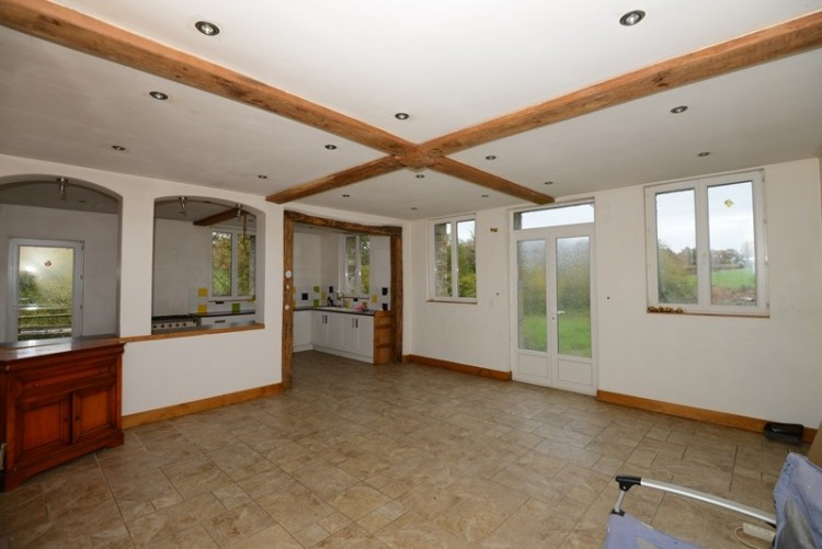 Property for Sale in Renovated barn with spacious accommodation and over an acre, Manche, Manche, Normandy, Mortain, Normandy, France