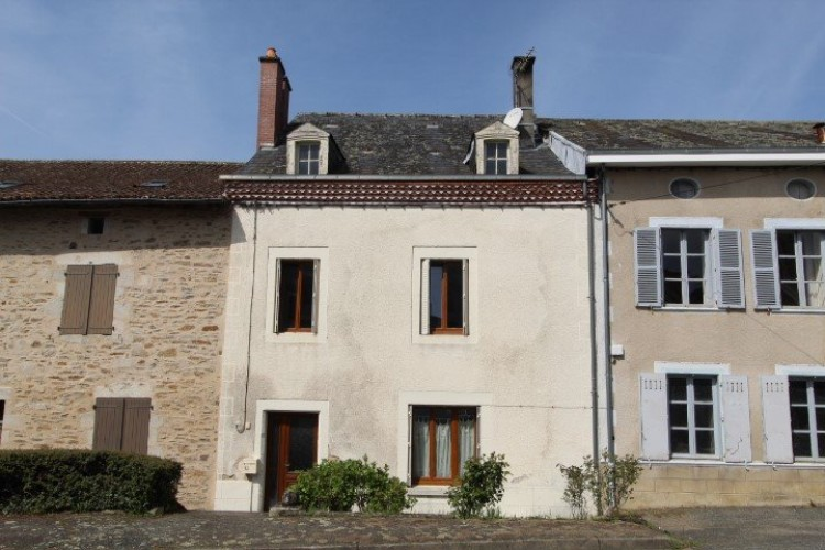 Property for Sale in Town house with views of the countryside, Haute-Vienne, Near Champsac, Haute-Vienne, Nouvelle-Aquitaine, France