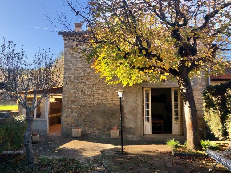 Property for Sale in Pretty detached stone house with garden, Aude, Near Espéraza, Aude, Occitanie, France