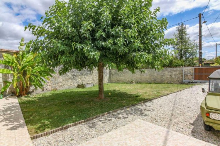 Property for Sale in Charming stone village house with walled garden, Charente, Nouvelle-Aquitaine, France