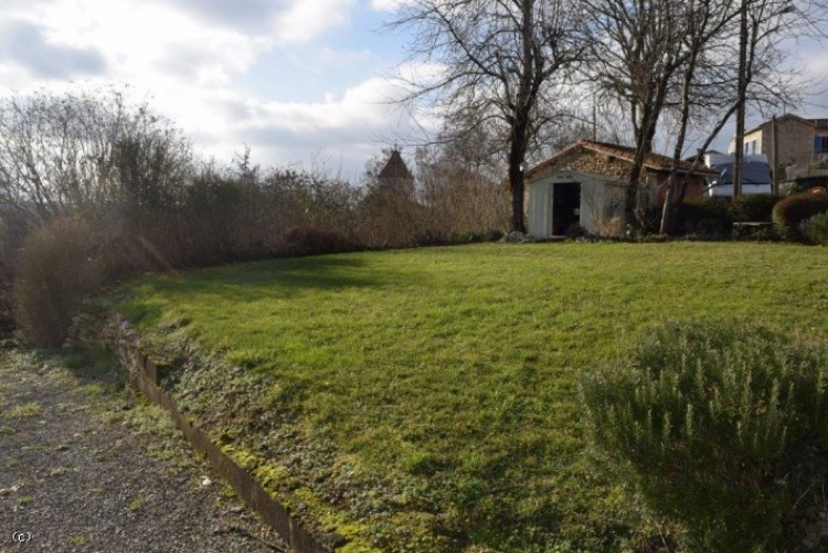 Property for Sale in Delightful Village House With Two Bedrooms And Gardens Opposite, Charente, Champagne-Mouton, Nouvelle-Aquitaine, France