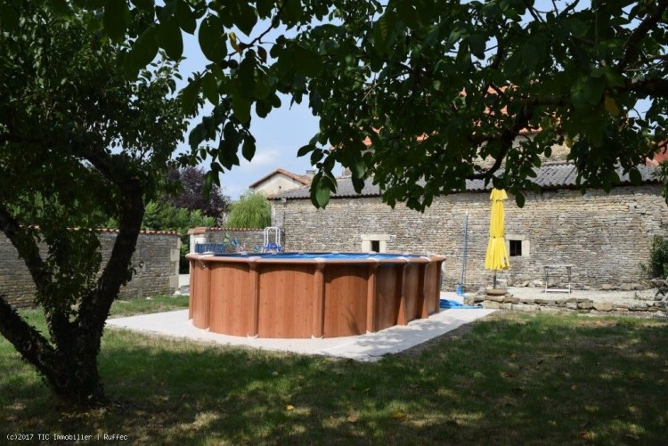 Property for Sale in Stone Village  House With Beautiful Barn And Other Outbuildings, Charente, Chef-Boutonne, Nouvelle-Aquitaine, France