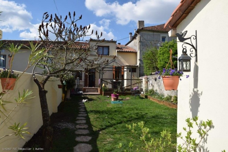 Property for Sale in A 3 Bed Village House Close to Ruffec With Stunning Vaulted Cinema Room, Charente, Ruffec, Nouvelle-Aquitaine, France
