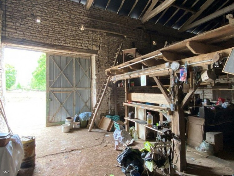 Property for Sale in Barn with Enclosed Garden and Hangar - Near Verteuil Sur Charente, Charente, Verteuil-Sur-Charente, Nouvelle-Aquitaine, France