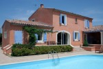 French house in France with swimming pool