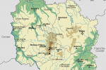 Map of Burgundy by LeMorvandiau via Wikimedia