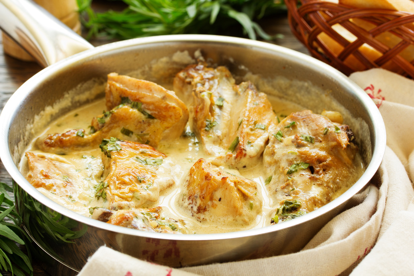 Chicken with creamy cider sauce ©ld1976