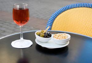 Traditional French Kir aperitif ©Ekaterina Pokrovsky