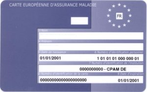 EHIC European Health Card _Photo by Antoine FLEURY-GOBERT