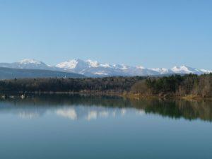 Chalabre lake