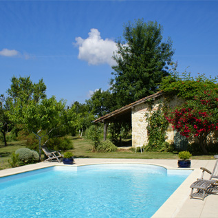 Property with a pool in france