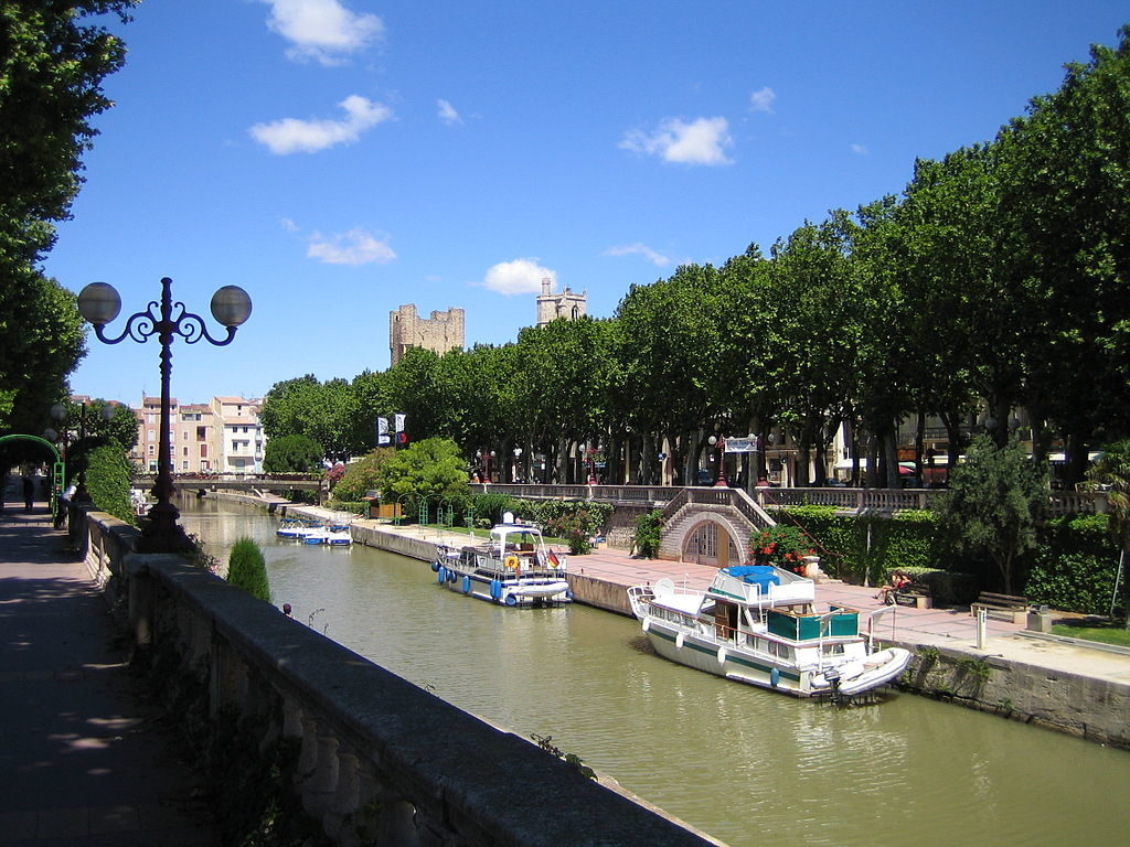 """the Canal de la Robine in Narbonne"""