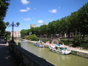 """""""the Canal de la Robine in Narbonne"""""""