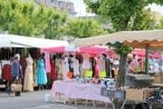 Bourganeuf market