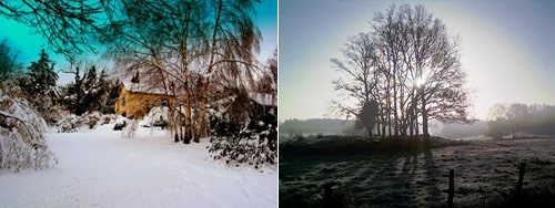 winter in Limousin