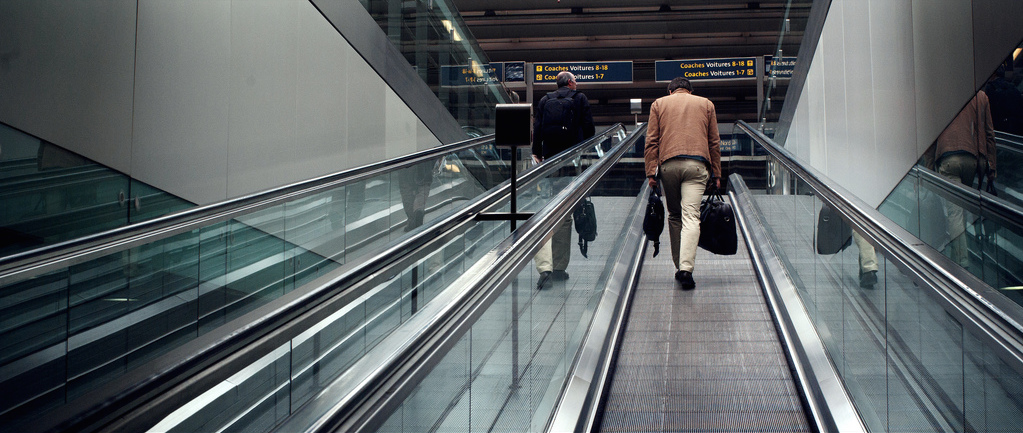 Boarding Eurostar st Pancras by Clément G via Flickr