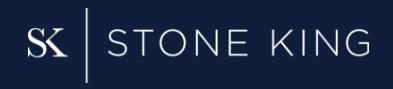 Stone king banner