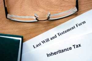 Last will and testament form documents
