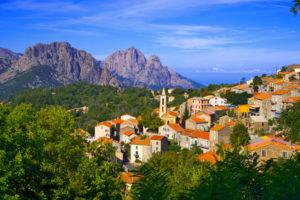 Corsica evisa village © JONATHAN
