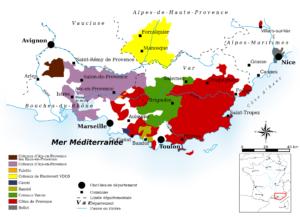 AOC wines of Provence Image by DalGobboM : CC0