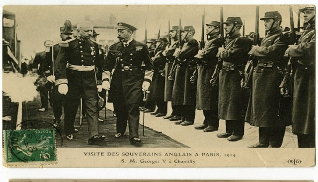 paris WW1 King and troops