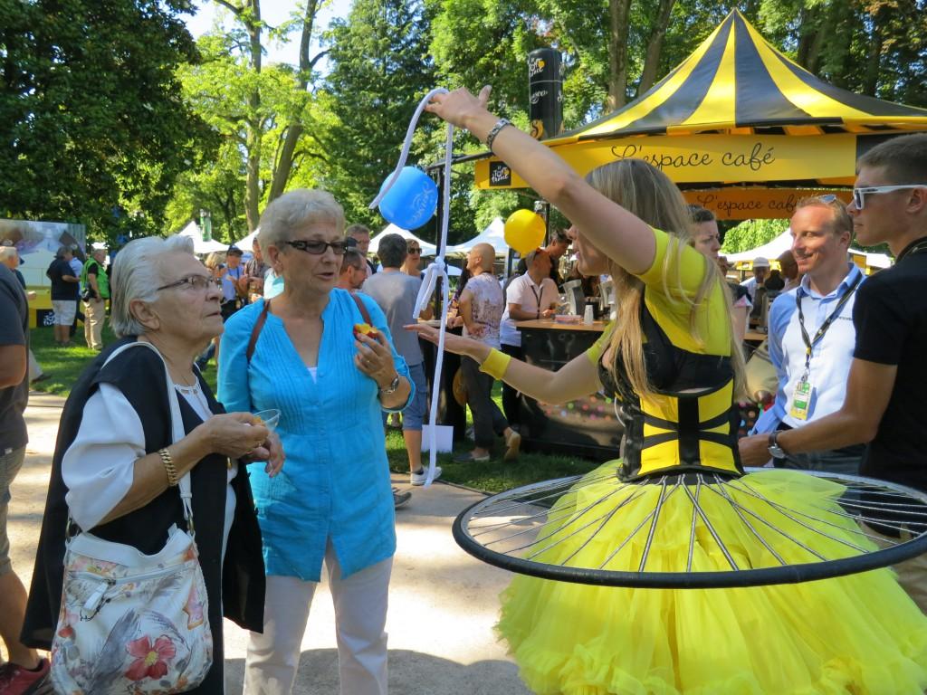 Entertainment at the Tour de France
