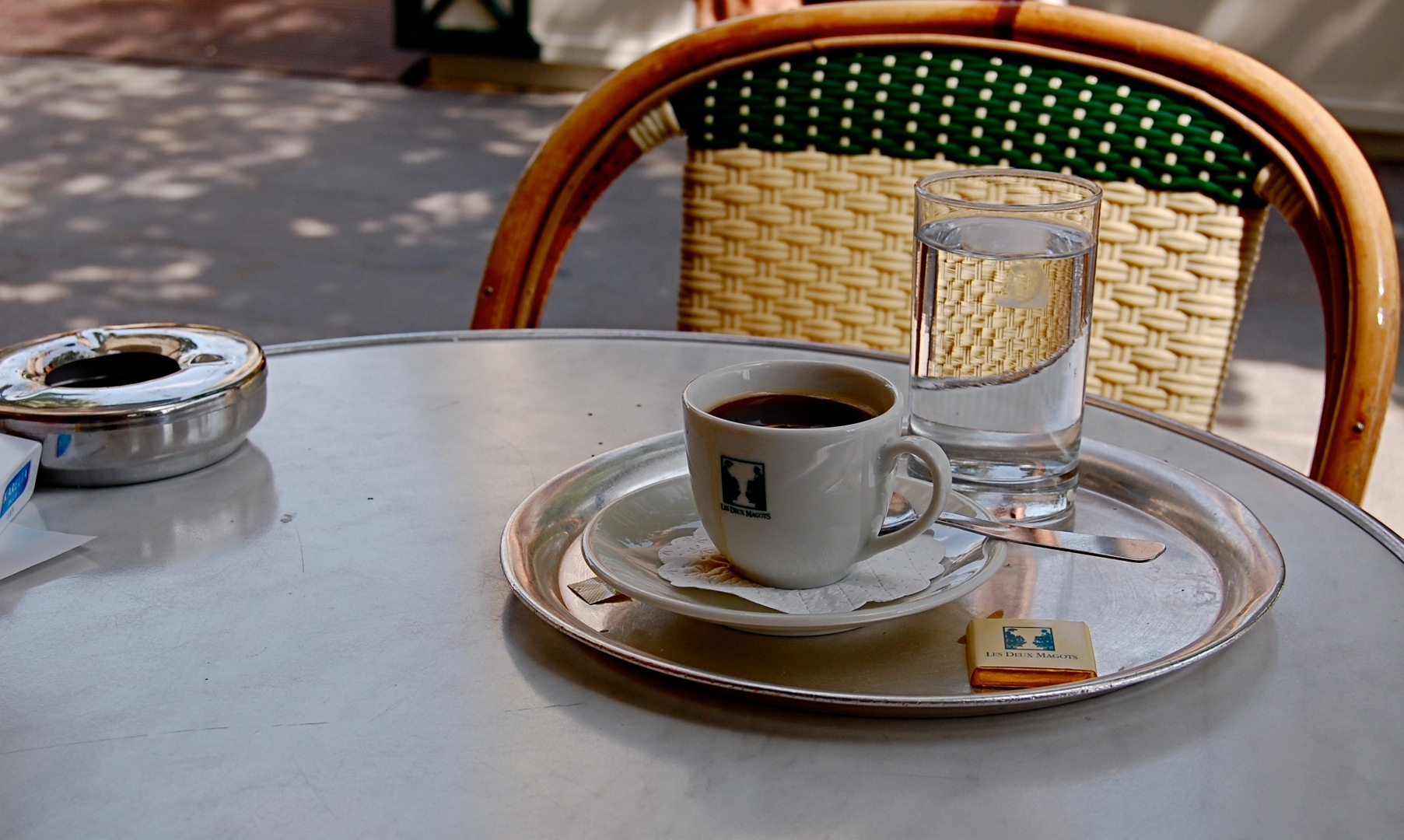 Cup of coffee in France