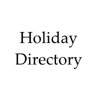 holiday directory