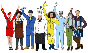 Workers in France