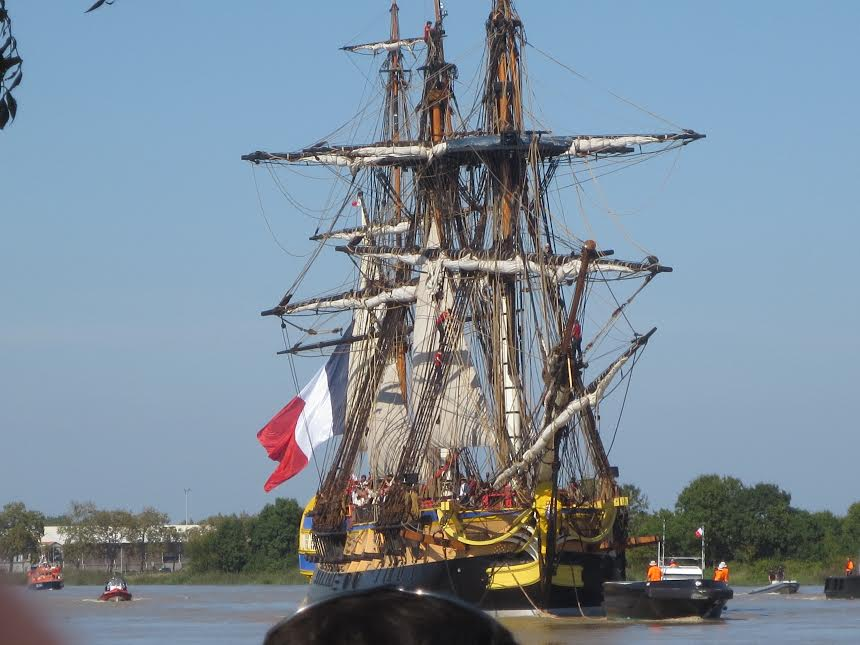 The Hermione ship