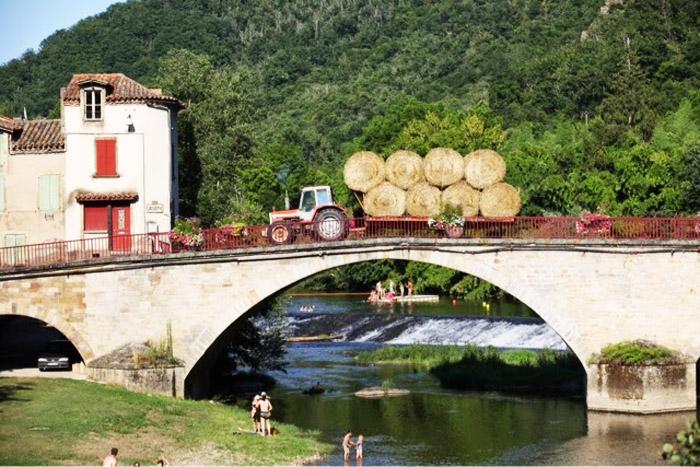 life in the village of Varen, Tarn-et-Garonne