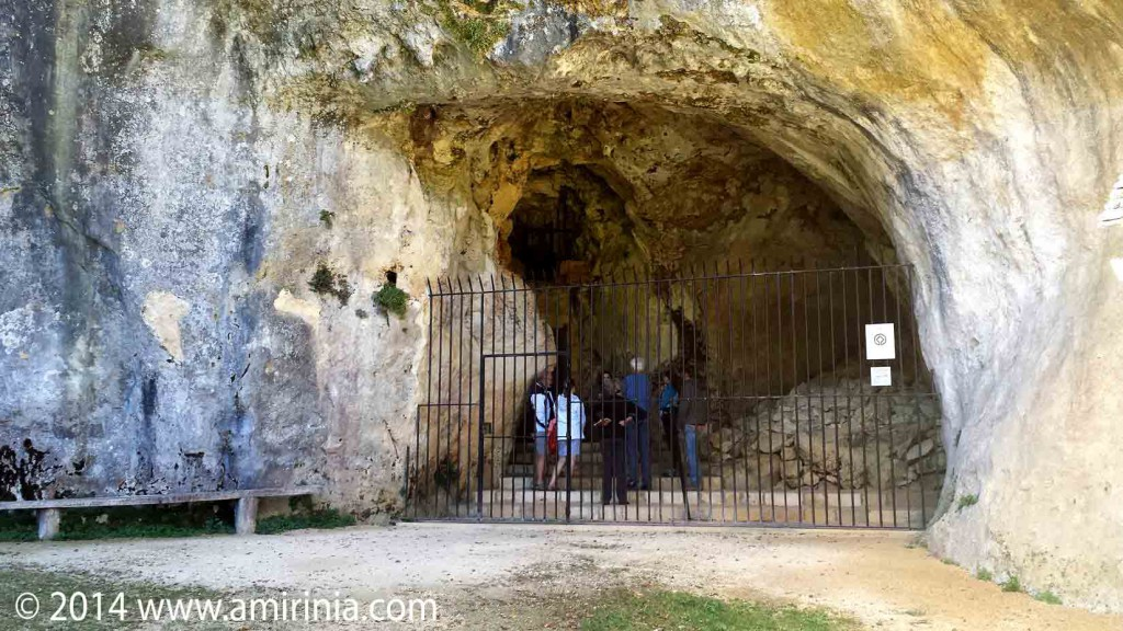 The cave of Combarelles, Vézère Valley