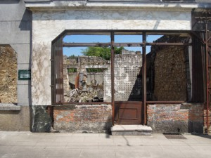The butcher's shop