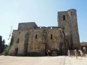 Oradour's church was the main site for the killing of the women and children