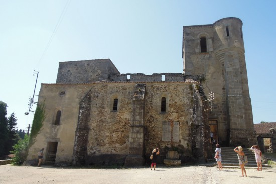 Oradour church