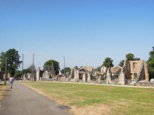 Street view of Oradour