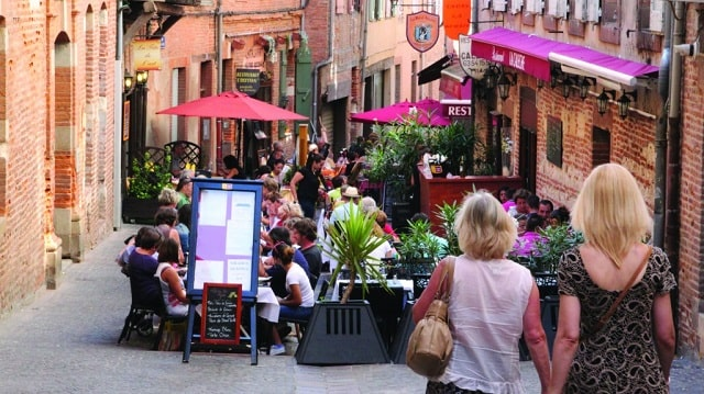 Dining out in Albi
