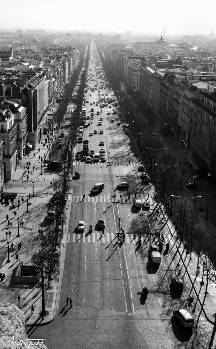Anaïs Soury, Champs-Elysées