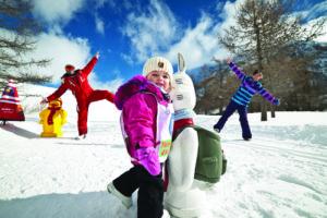 family ski france