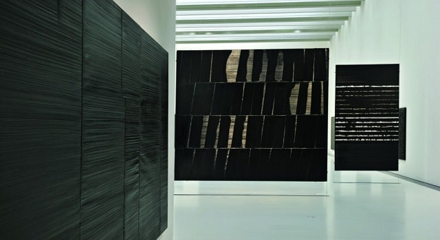 The interior of the Musée Soulages