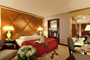 A Superior room, immaculately conceived by Jacques Garcia