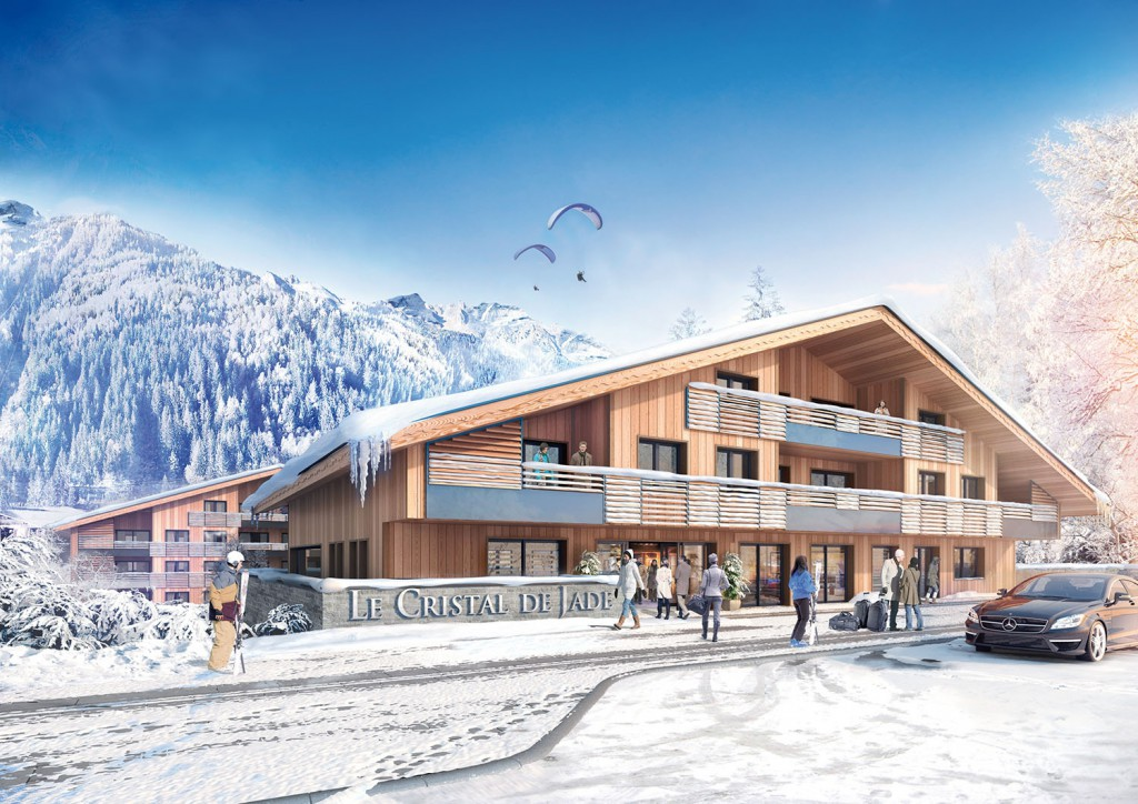 British buyers snap up luxurious off-plan Chamonix apartments